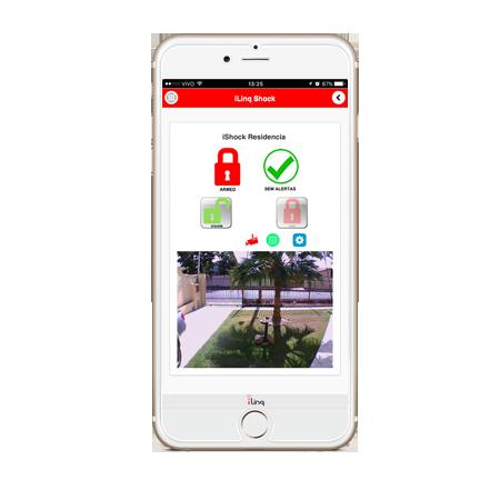 Módulo iLinq SHOCK 2 - Interface universal para Alarme ou Cerca Elétrica