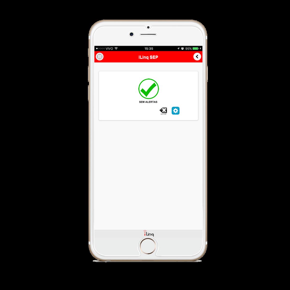 Sistema de Emergência Pessoal iLinq Alert SEP II