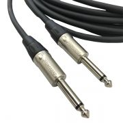 Cabo de Instrumento Santo Angelo / Wireconex P10 Mono Balanceado P10 + P10 10 Metros (Montado)