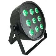 Canhão Par LED 9 x 12w RGBW - RS