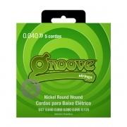 Jogo de cordas p/ Contrabaixo 5 Cordas 040 - Groove