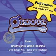 Jogo de Cordas p/ Violão Nylon Alta Tensão - Groove (2 cordas extras)