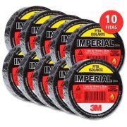 Kit 10 Rolos de Fita Isolante 5mt 3M - Imperial