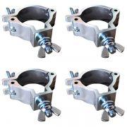 Kit 4 Unidades - Algema de Alumínio para Fixação - RS