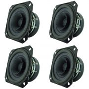 Kit 4 Unidades - Alto Falante 04'' - 4 AR 160 (8 Ohms) - Oversound