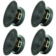Kit 4 Unidades - Alto Falante 05'' - 5 AR 240 (8 Ohms) - Oversound