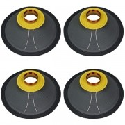 Kit 4 Unidades - Reparo Alto Falante 12'' - 12 Steel 400 (8 Ohms) - Oversound