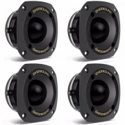 Kit 4 Unidades - Super Tweeter ST 80 Preto - Oversound