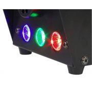 Máquina de Fumaça 600w 110v - LED RGB