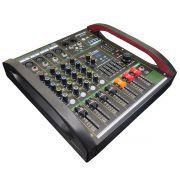 Mesa de Som 4 Canais USB / Bluetooth / Phantom Power - BP-6170 - Briwax