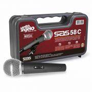 Microfone Cardióide c/ Fio SAS 58C - Santo Angelo