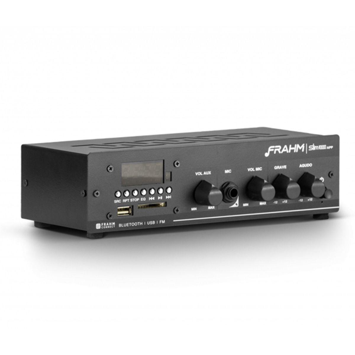 Amplificador Slim 1000 APP - Frahm
