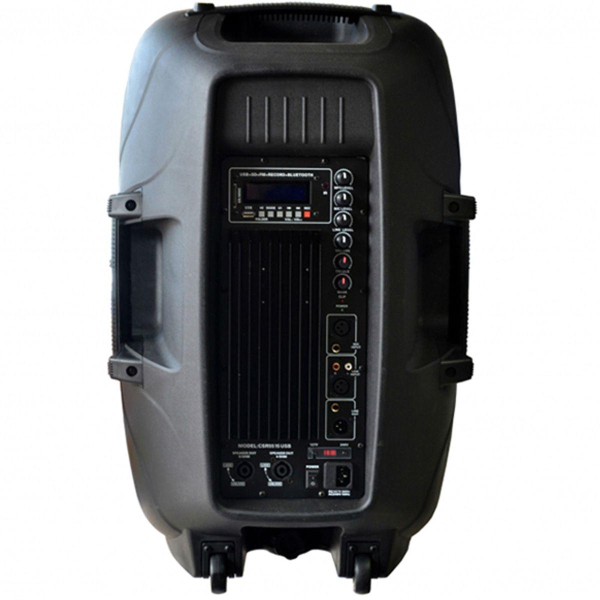 Caixa Ativa 5515 USB/Bluetooth - CSR  - RS Som e Luz!
