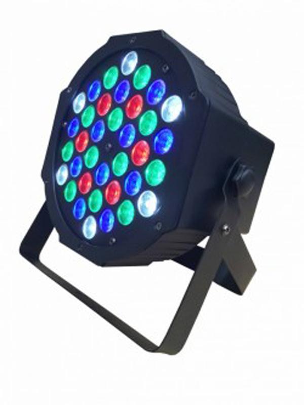 Canhão Par LED 36 x 1W RGBW
