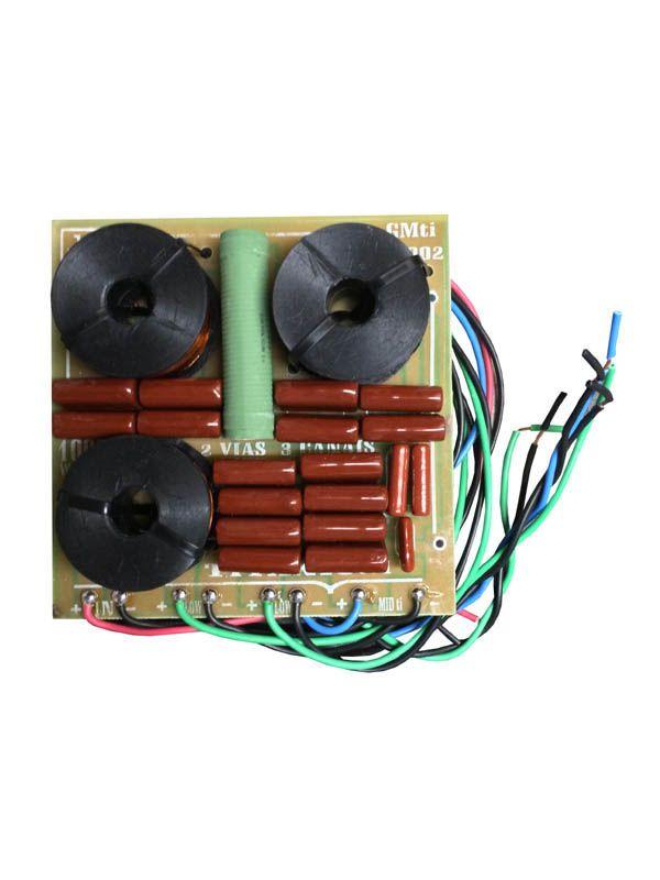 Divisor de Frequência 2 Vias (G + G + TI) - 1000W  - RS Som e Luz!
