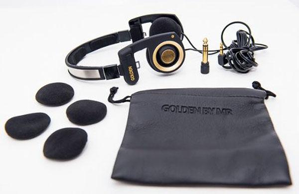 Fone Mr. Mix Golden Retorno de Palco - Porta Pro  - RS Som e Luz!