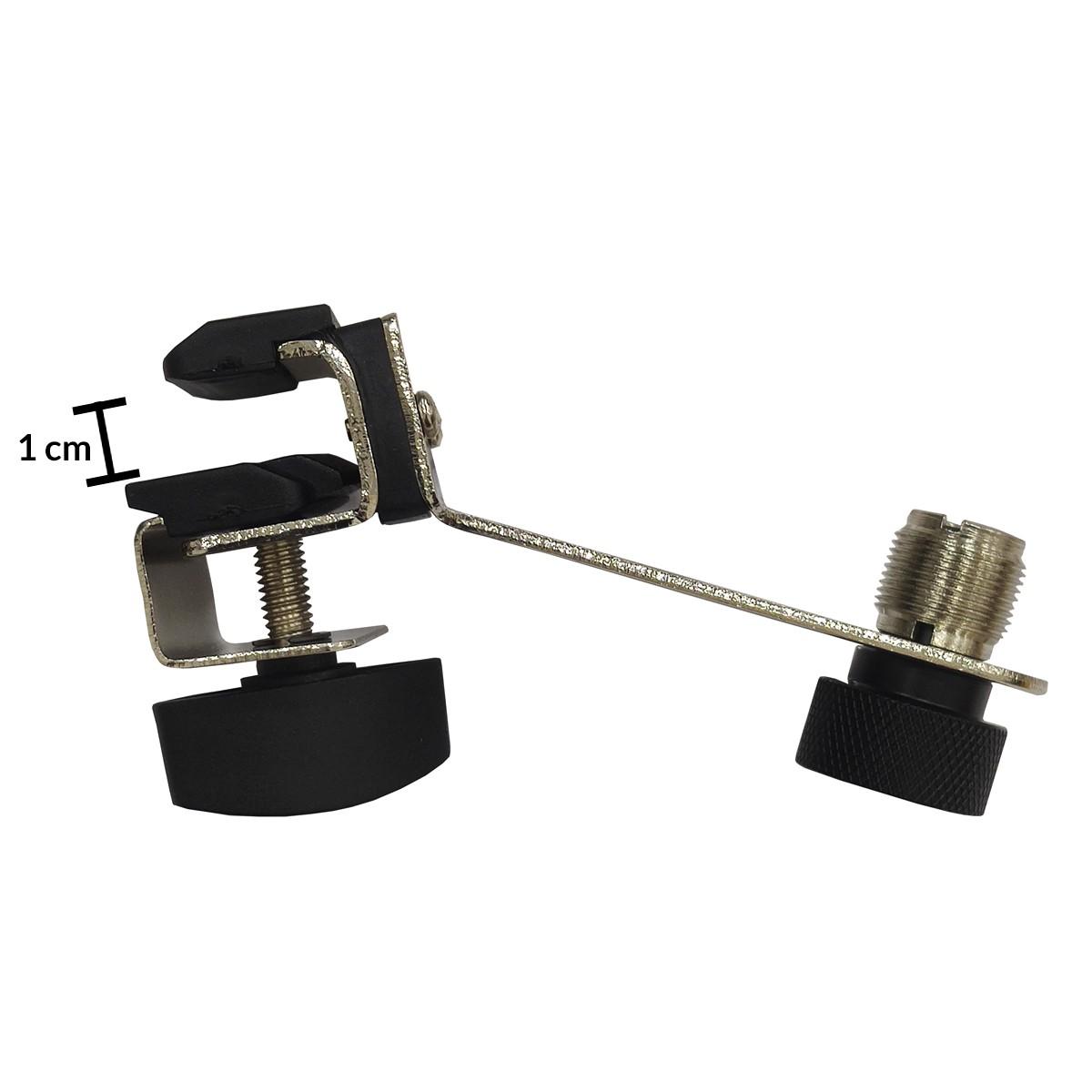 Garra Clamp Para Microfone De Bateria Sdh-031 - Csr  - RS Som e Luz!