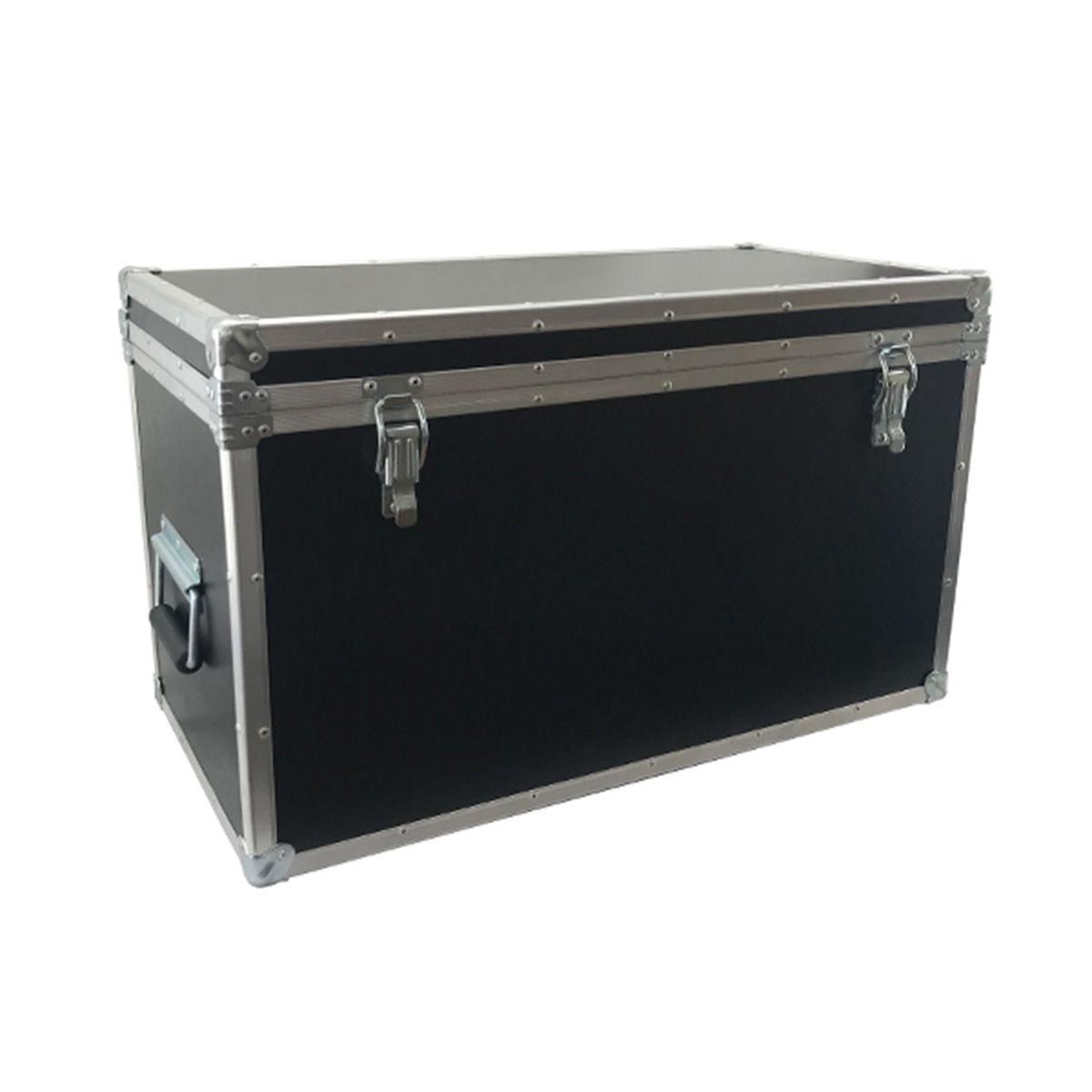 Hard Case Baú para Cabos 60 x 30 x 30cm - RS  - RS Som e Luz!