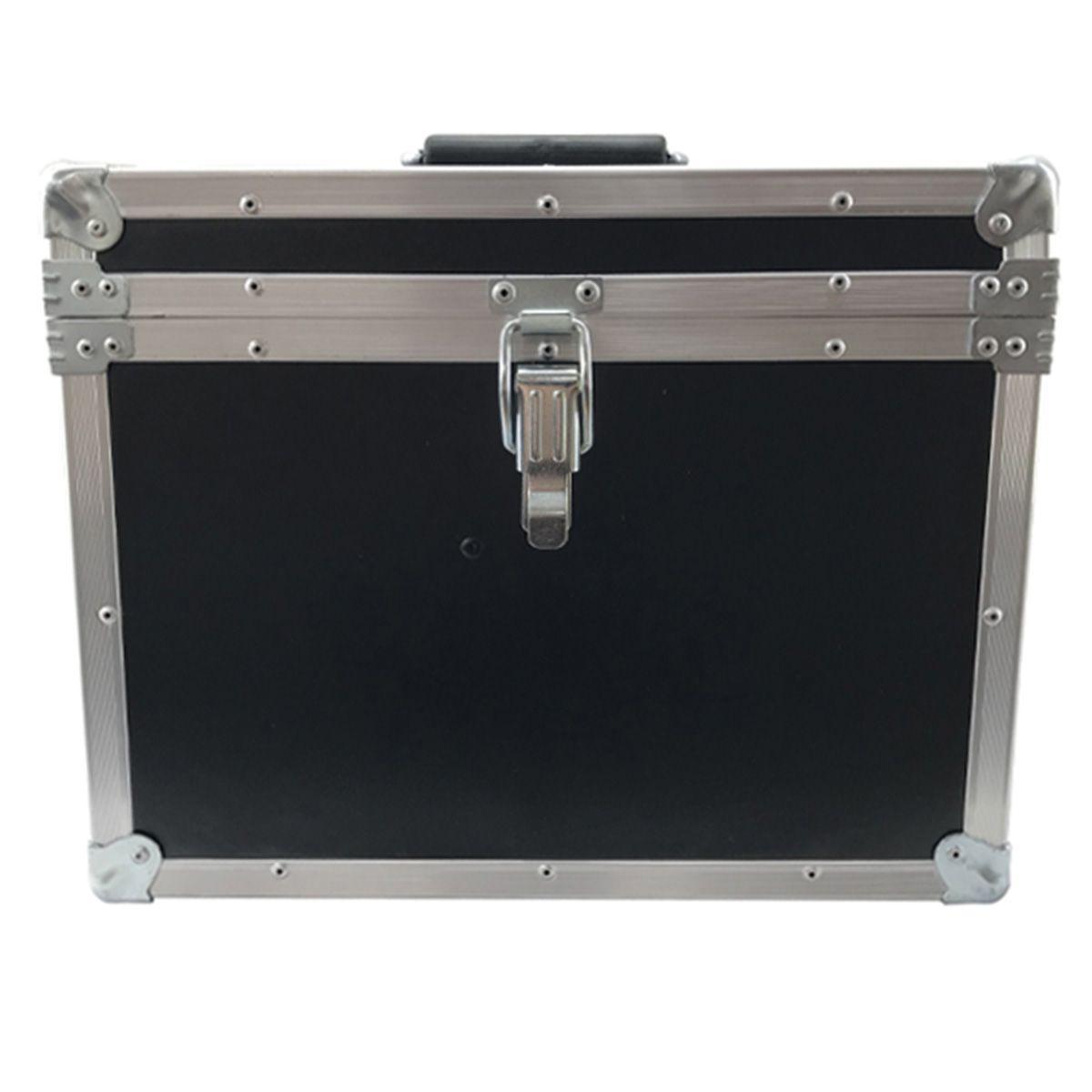 Hard Case Maleta para 12 Microfones com Vão para Acessórios - RS  - RS Som e Luz!