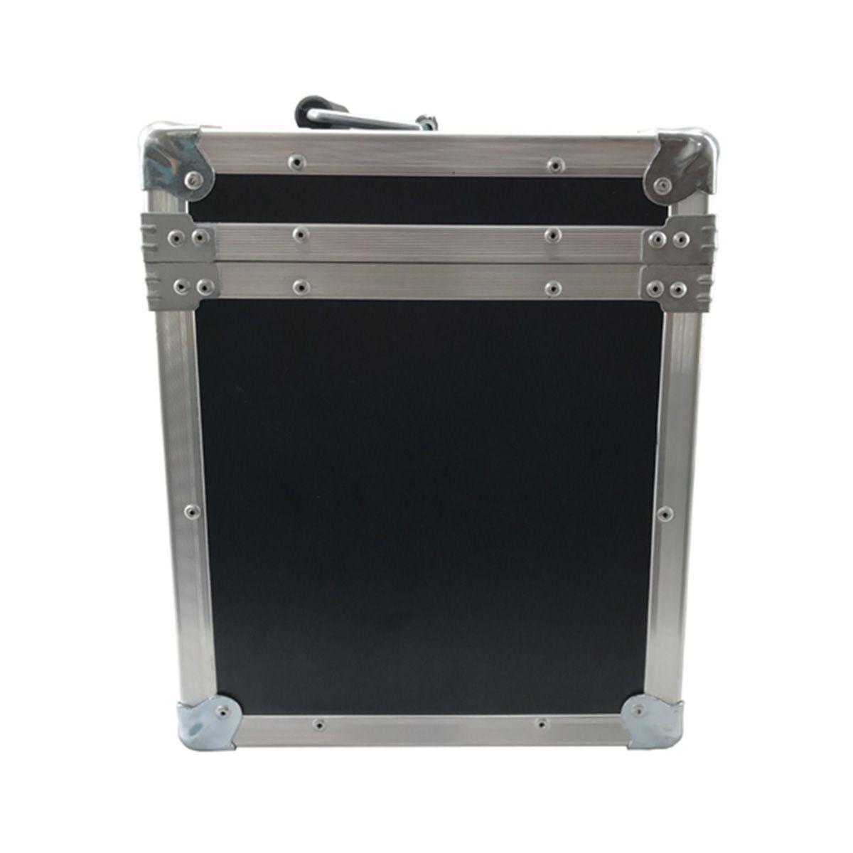 Hard Case Maleta para 6 Microfones com Vão para Acessórios - RS   - RS Som e Luz!