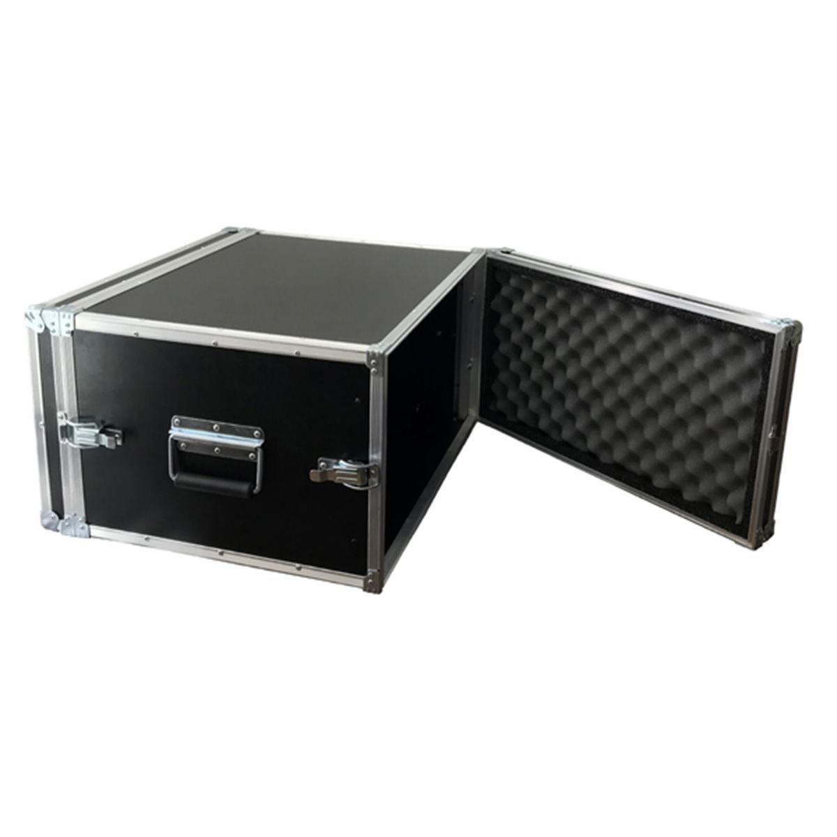 Hard Case para Periféricos 6UR - RS  - RS Som e Luz!