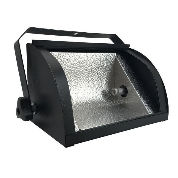 Kit 10 Refletores Mini Set Light + Lâmpada Palito Halógena 500w 220v 118mm  - RS Som e Luz!
