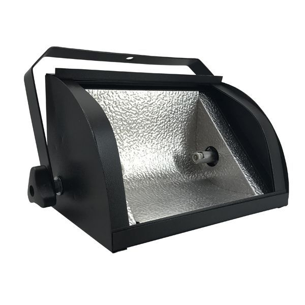 Kit 2 Refletores Mini Set Light + Lâmpada Palito Halógena 500w 220v 118mm  - RS Som e Luz!