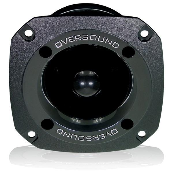 Kit 2 Unidades - Super Tweeter ST 80 Preto - Oversound  - RS Som e Luz!