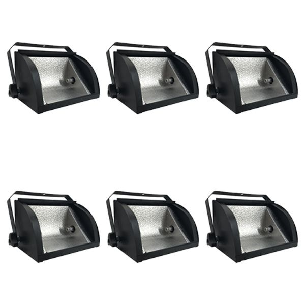 Kit 6 Unidades - Refletor Mini Set Light 500w