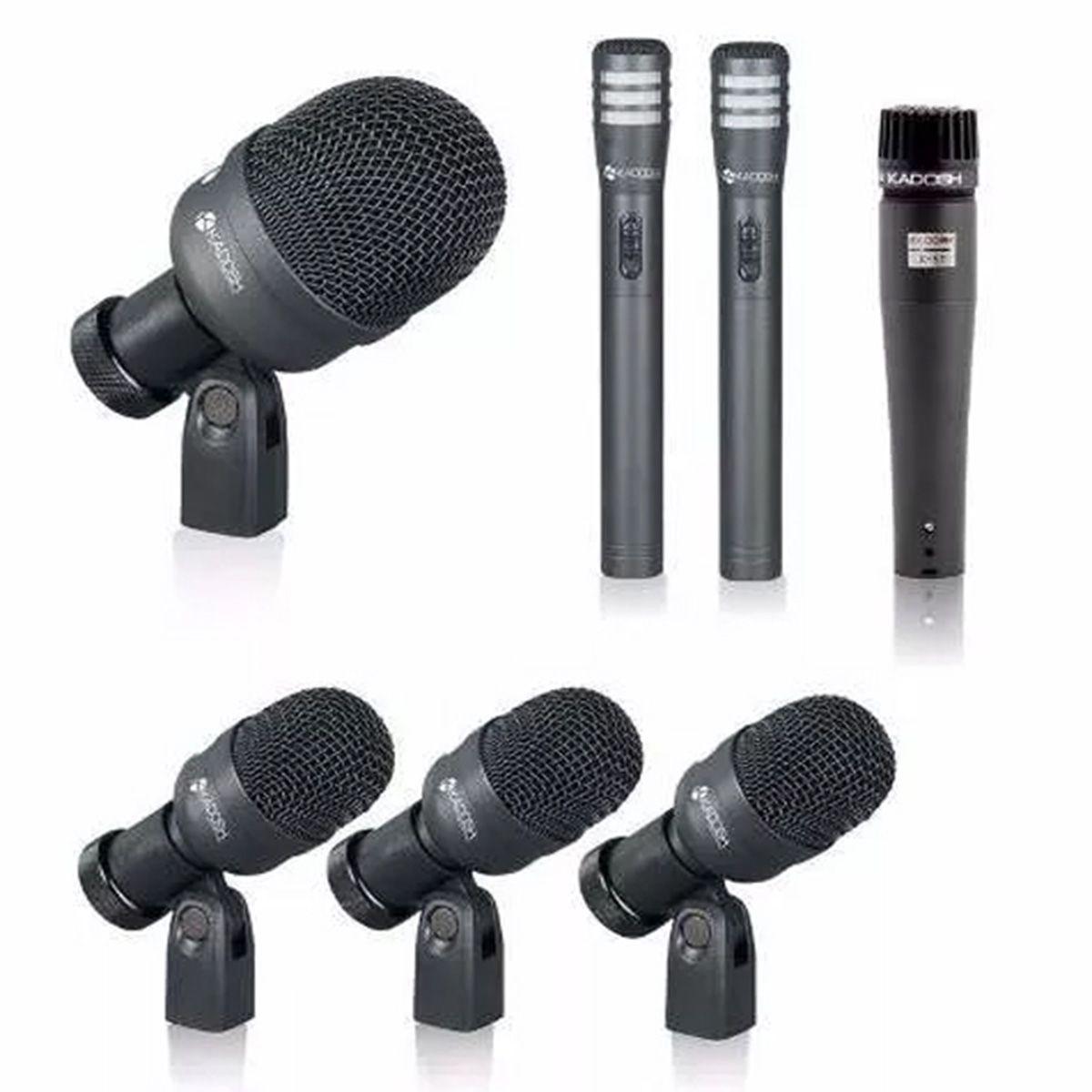 Kit Microfone Profissional Bateria K 7 Slim - Kadosh ( K7 Slim )