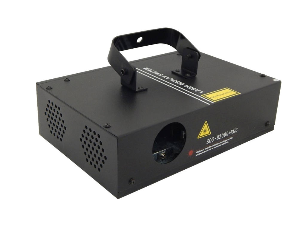 Laser B2000  Rgb - Dmx