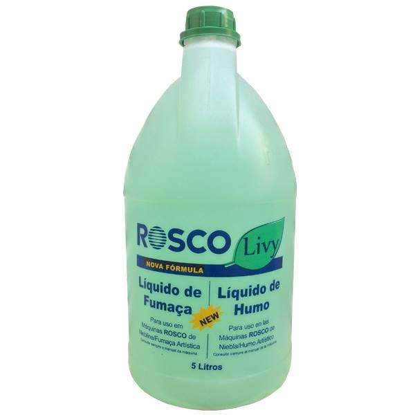 Líquido de Fumaça Neutro 5 Litros - Rosco Livy  - RS Som e Luz!