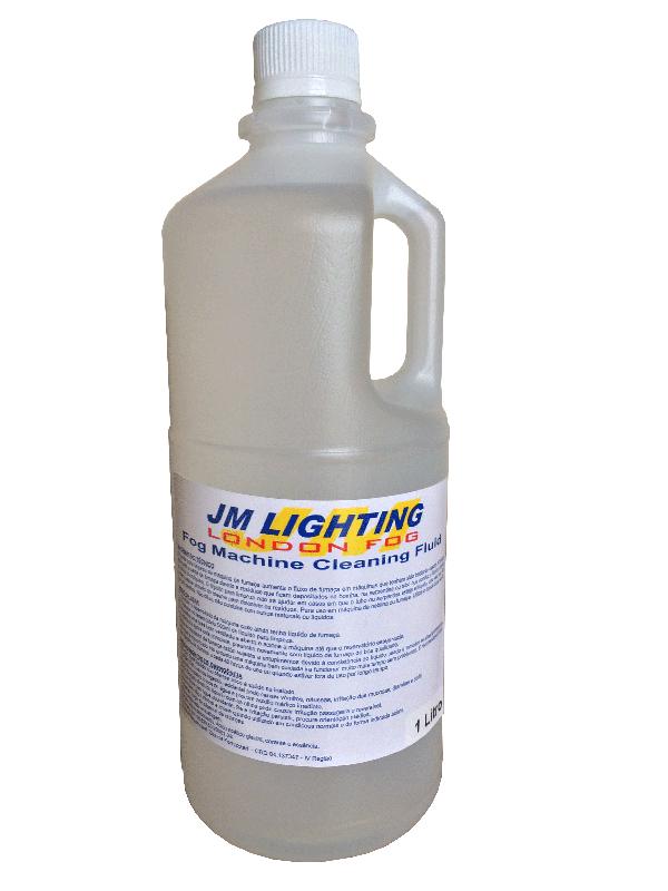 Líquido Limpeza de Máquinas de Fumaça 1 Litro - JM   - RS Som e Luz!
