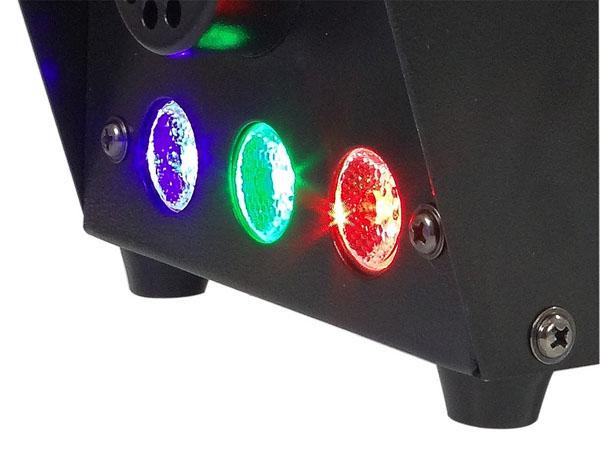 Máquina de Fumaça 600w 110v - LED RGB  - RS Som e Luz!