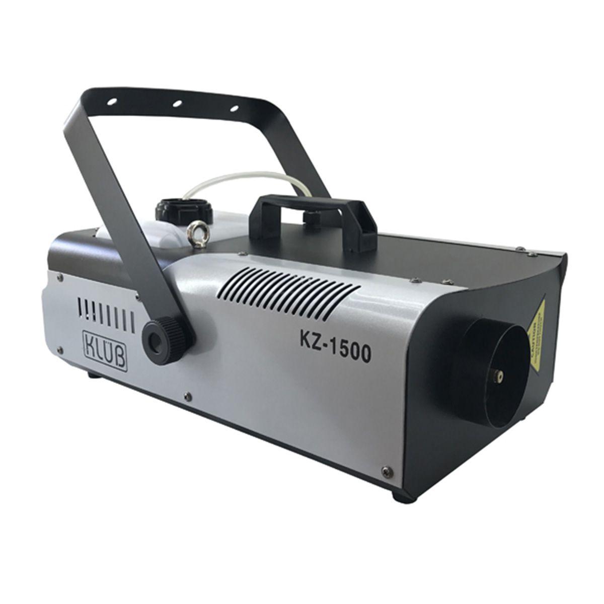 Máquina de Fumaça KZ 1500 220v   - RS Som e Luz!