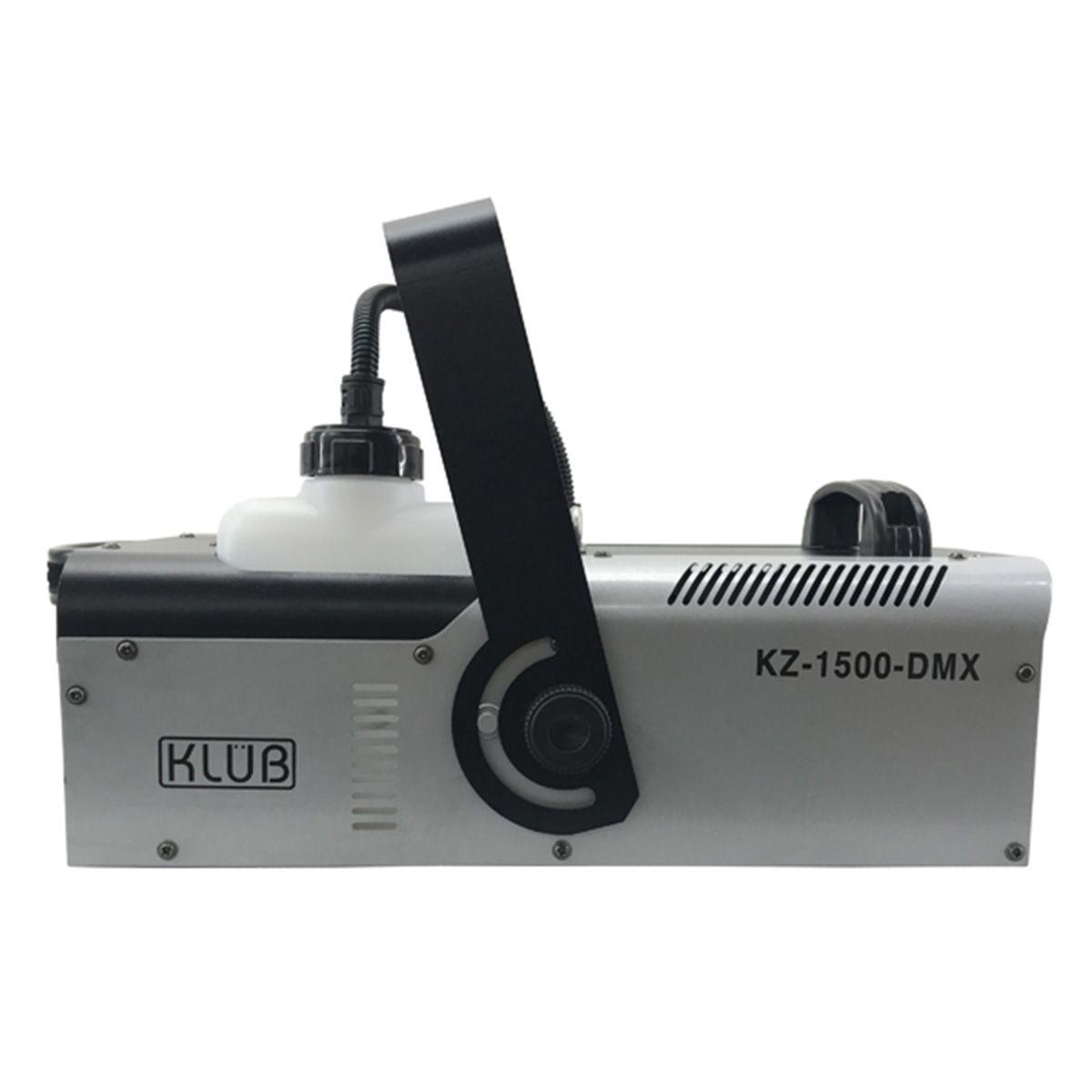 Máquina de Fumaça KZ 1500 DMX 220v   - RS Som e Luz!