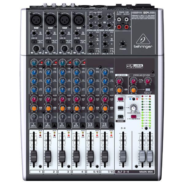 Mesa de Som Xenyx 1204 USB Bivolt - Behringer  - RS Som e Luz!