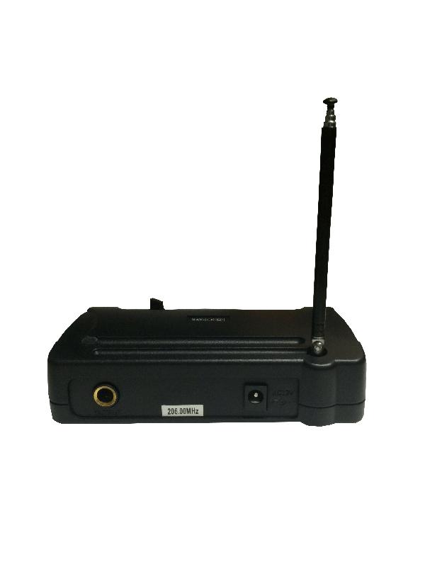 Microfone Sem Fio VHF 104H Bastão (Mão) - CSR  - RS Som e Luz!