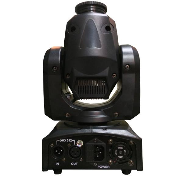 Mini Moving Head Spot Led 30w DMX  - RS Som e Luz!