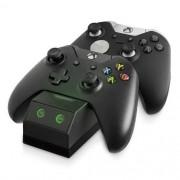 Base Carregador Controle Duplo Usb Dock Xbox One 2 Baterias