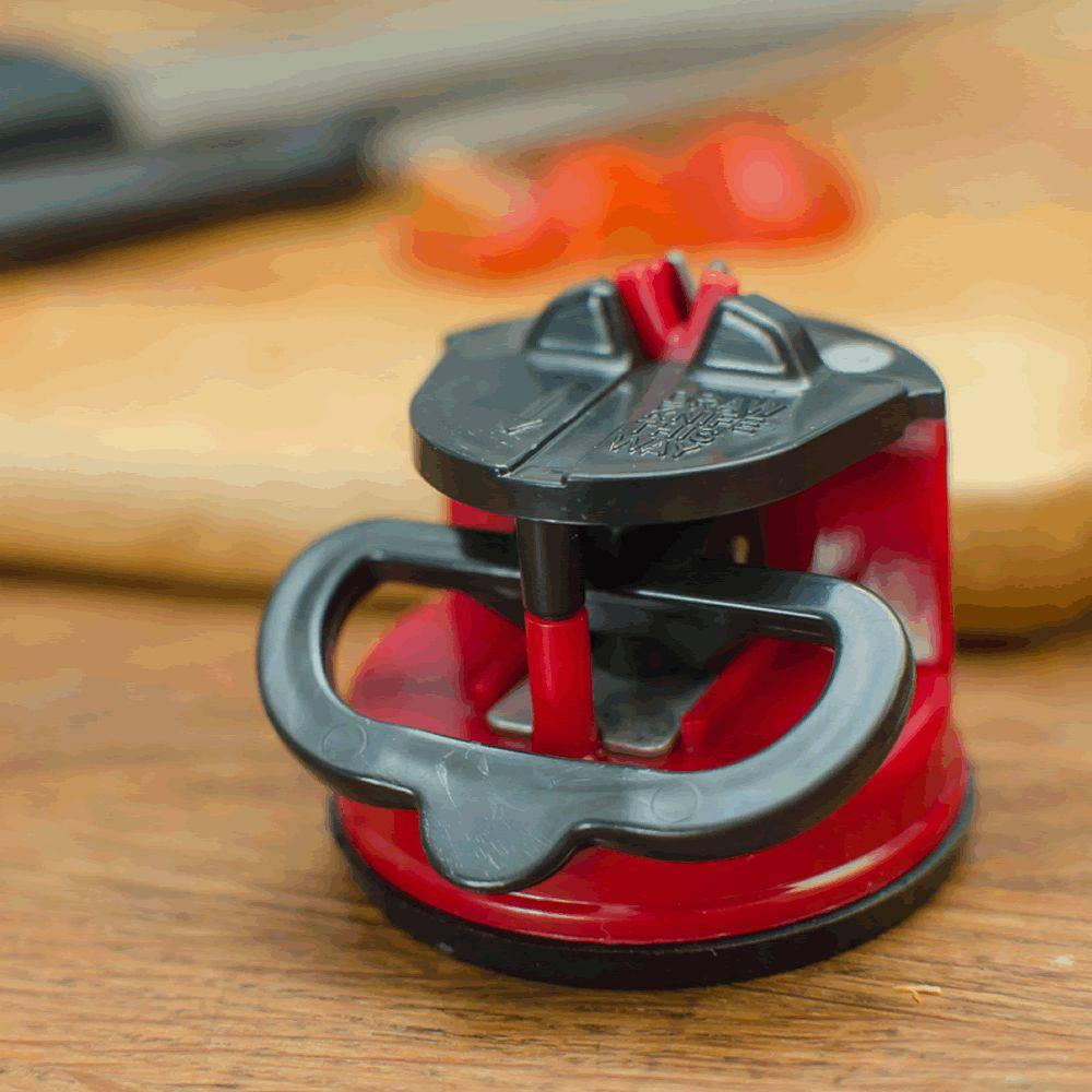 Afiador Amolador Faca Tesoura Canivete Facão com Ventosa WMTLL80143