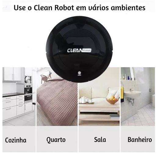 Aspirador Robô Automatico Clean Robot