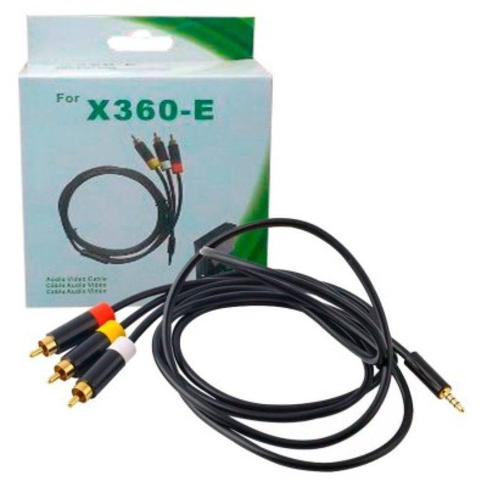 Cabo Av Audio E Video X-box 360 Super Slim