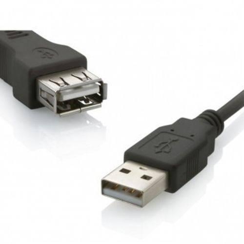 Cabo Extensor USB Extensão 3,0m 2.0 Macho X Femea