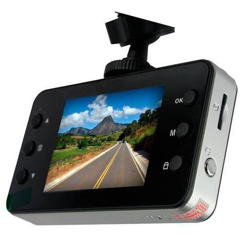 Câmera Filmadora Veicular Full Hd 1080p