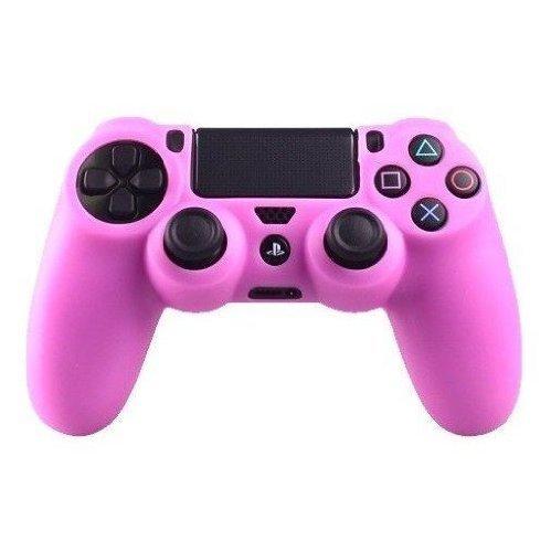 Capa De Silicone Controle Dualshock 4 Playstation 4 - Rosa