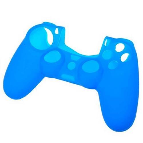 Case Capa de Silicone para Controle Dualshock 4 - Playstation 4 PS4 - Azul