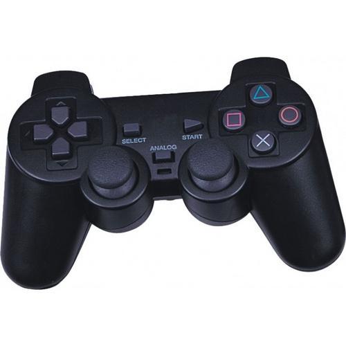 Controle Ps2 Playstation 2 Dualshock Com Fio Analógico Com Vibração