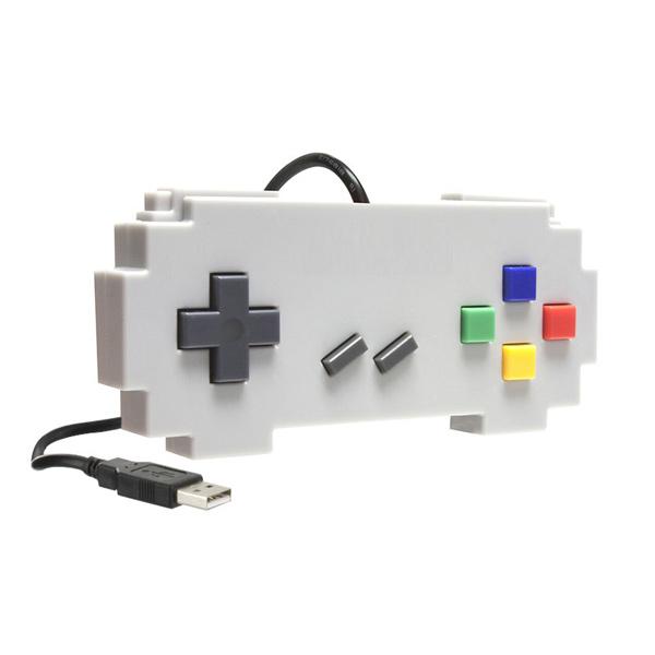 Controle USB para PC/MAC Pixel Art Famicon - Hyperkin