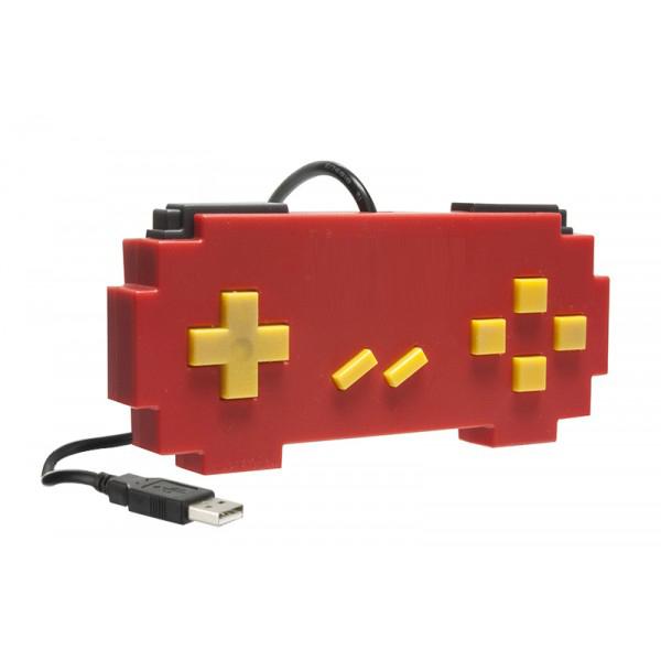 Controle USB para PC/MAC Pixel Art Vermelho - Hyperkin